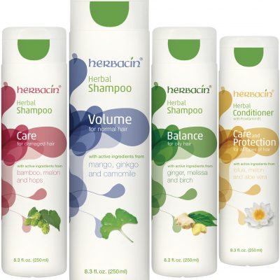 Herbacin Shampoos and Conditioner Packs a Punch
