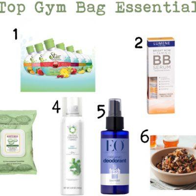 6 Top Gym Bag Essentials For Women