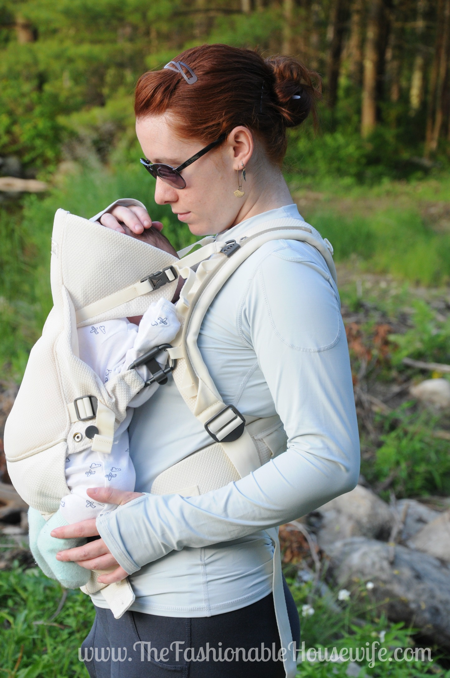 Today S Outfit Stokke Mycarrier Cool Baby Carrier The Fashionable