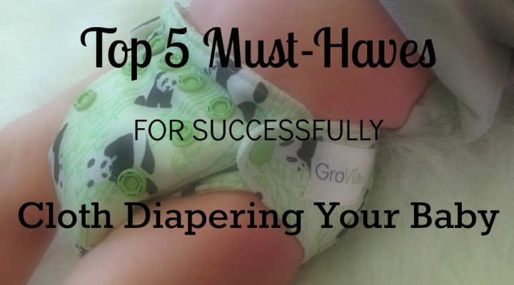 Top 5 Must-Haves for Successfully Cloth Diapering Your Baby