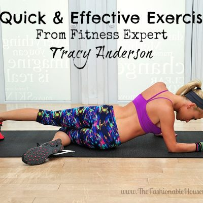 3 Quick & Effective Exercises From Fitness Expert Tracy Anderson