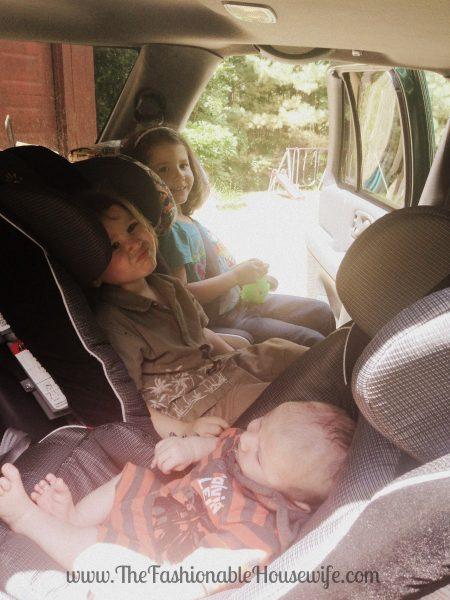 3 car seats
