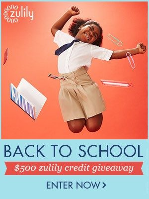 Win $500 in zulily's Back To School Giveaway!