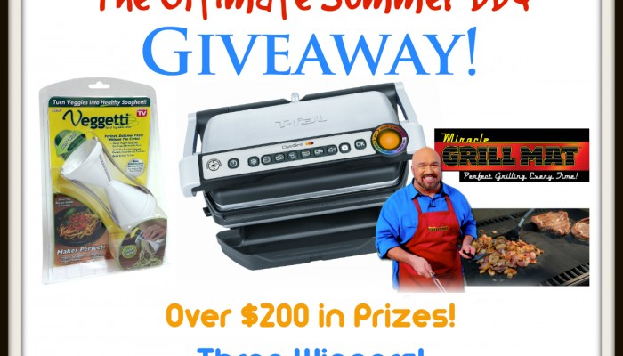 Enter To Win the Ultimate Summer BBQ Giveaway