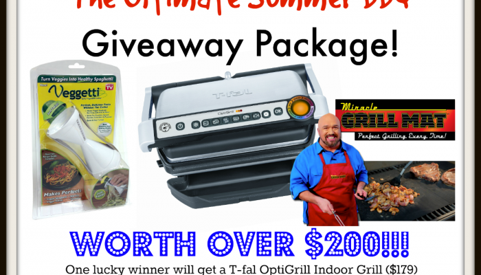 Enter To Win the Ultimate Summer BBQ Giveaway Package