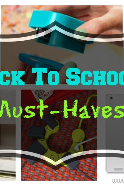 5 Must-Haves To Get BEFORE Going Back To School