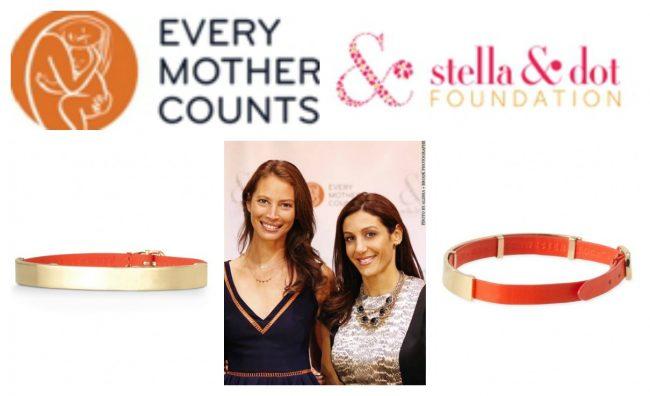 Stella & Dot Enlighten Bracelet Benefits Every Mother Counts