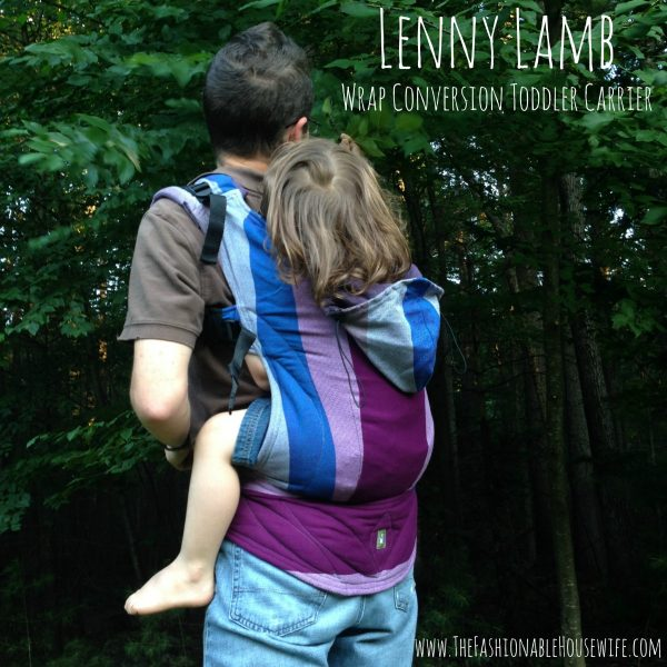 Lenny Lamb's Wrap Conversion Baby Toddler Carrier