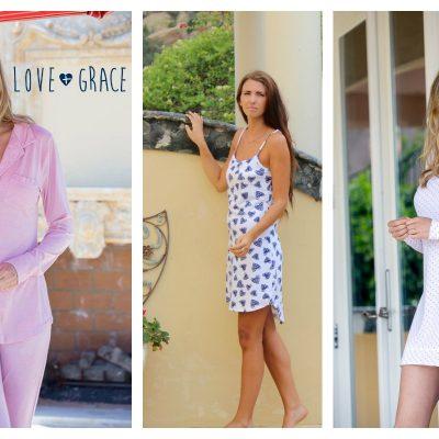 Love + Grace = Fashionable, Comfortable Pajamas