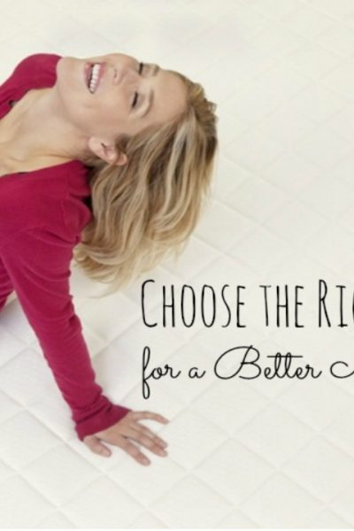 Choose the Right Mattress for a Better Night's Sleep