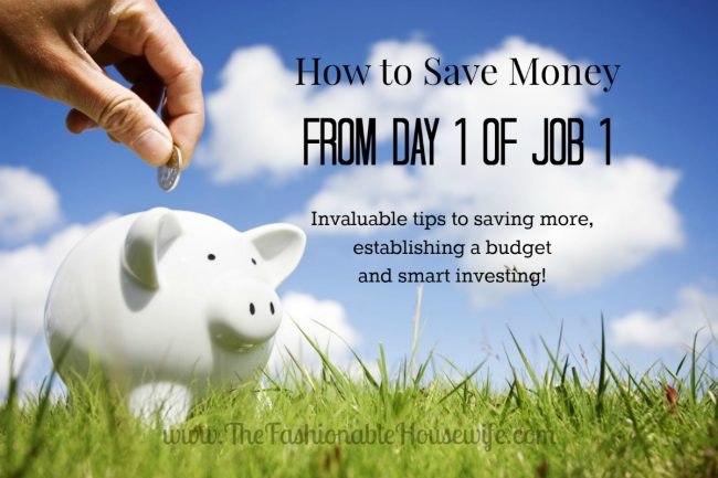 How to Save Money from Day 1 of Job 1