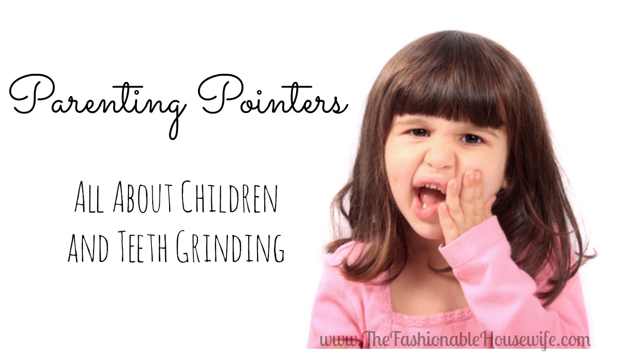 teeth grinding in children