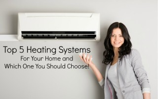 top 5 heating systems