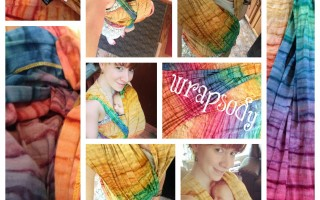 wrapsody hope rainbow tie dye wrap