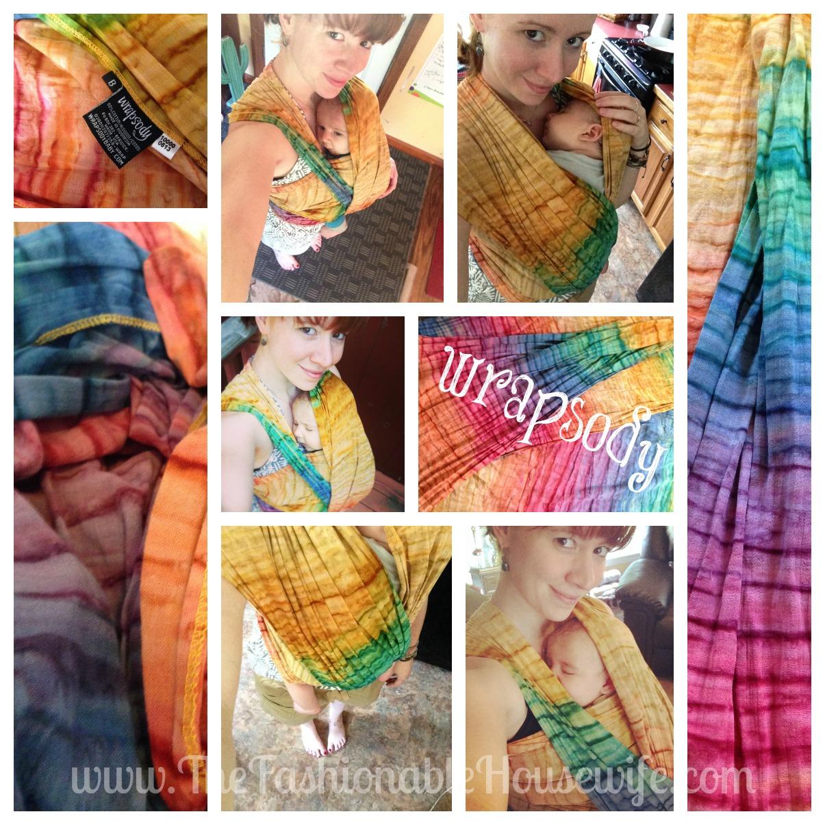 wrapsody hope rainbow tie dye wrap