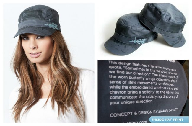 Wear Your Quote on Your Sleeve (Or Your Hat!)