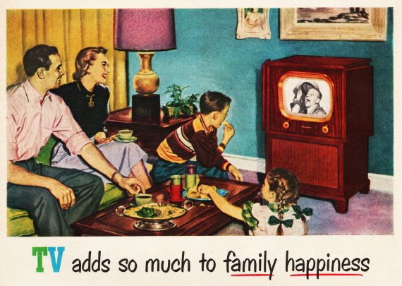 family happiness 50s