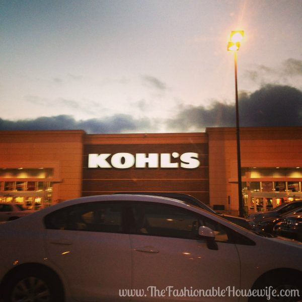kohls store sunset