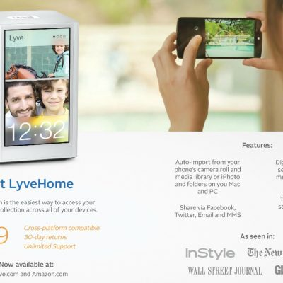 Back To School Must-Haves: LyveHome Photo Storing System