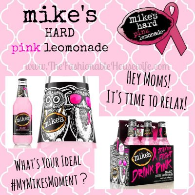 It's Time to Relax with mike's hard pink lemonade #mymikesmoment