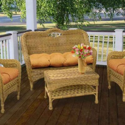 Keeping Outdoor Wicker Patio Furniture Safe During Winter
