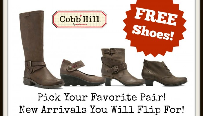 Enter To Win FREE Cobb Hill Shoes