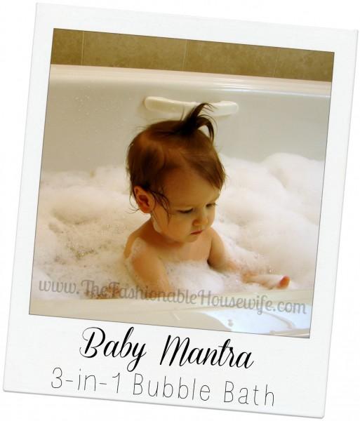 baby mantra bubble bath