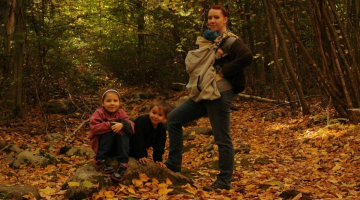 What I Wore Real Mom Style: Fall Foliage Hiking  #RealMomStyle