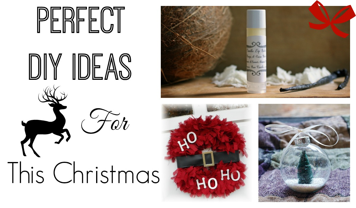 perfect diy ideas for christmas