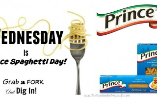prince pasta day