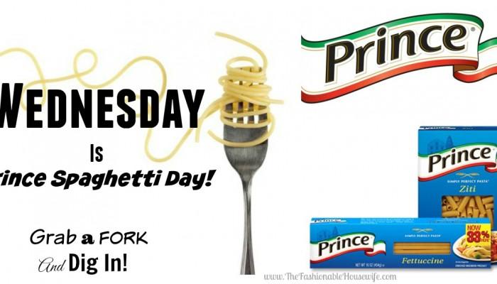 prince pasta day