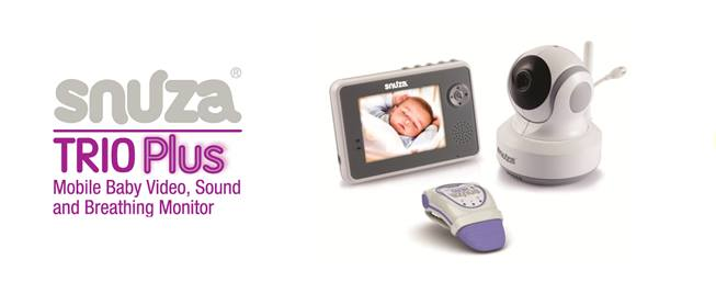 Must-Have: Snuza Trio Plus Baby Monitor System #SnuzaTrio