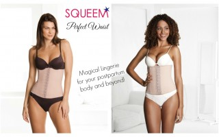 SQUEEM Perfect Waist Belly Binder for Postpartum Bellies