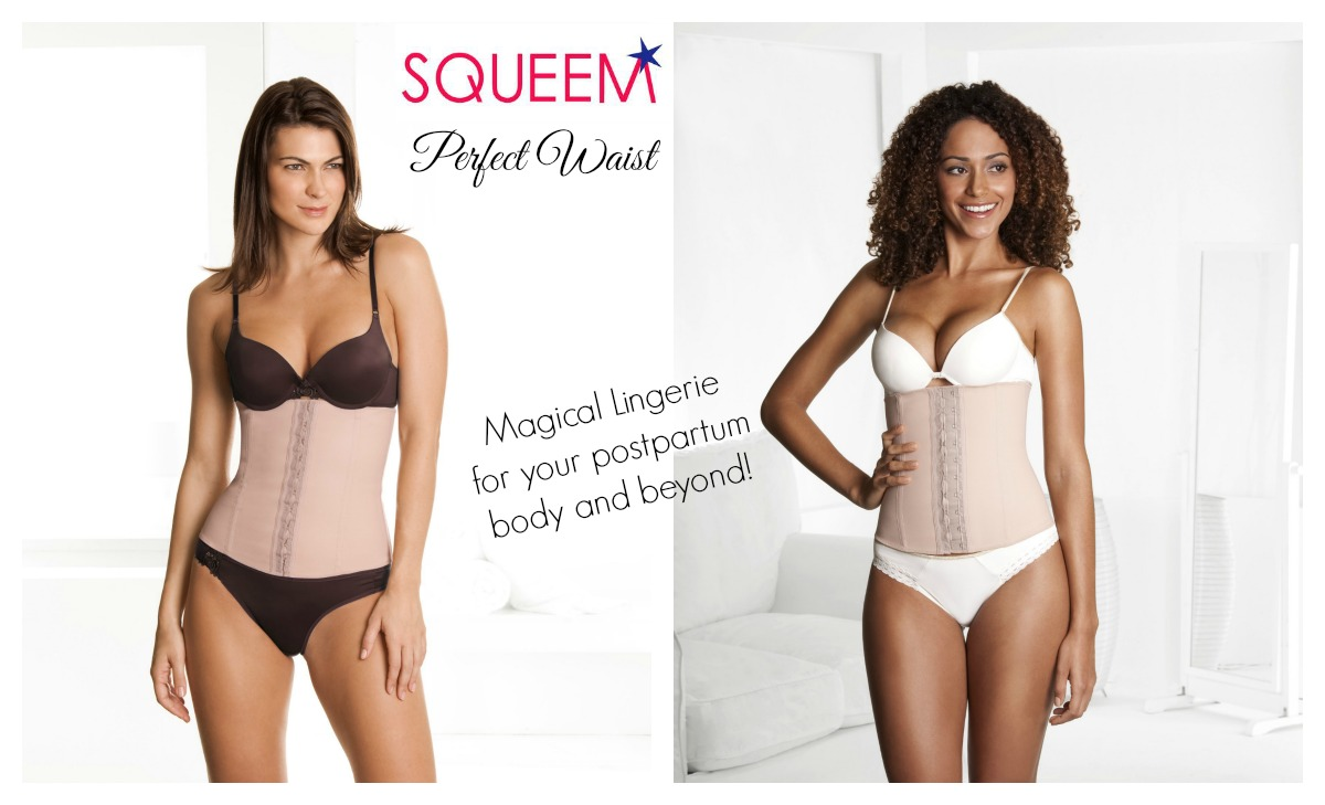 2551505da1247 SQUEEM Perfect Waist Belly Binder for Postpartum Bellies - The ...