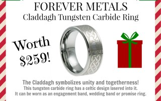 Enter for a chance to win Forever Metals claddagh rings