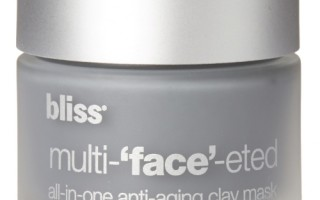 Get Skin Holiday-Ready with Bliss Multi-'Face'-Eted All-In-One Anti-Aging Clay Mask