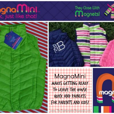 Gift Idea: MagnaMini Coats That Close With Magnets