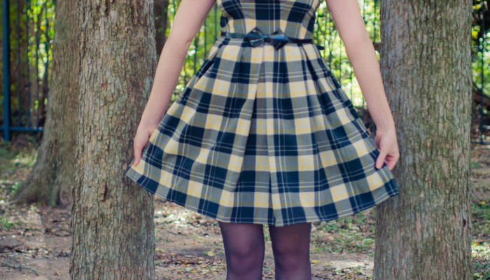 Today's Outfit: Mad For Plaid!