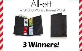 Enter for a chance to win Allett Wallet