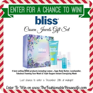 Enter for a chance to win Bliss Crown Jewels Gift Set