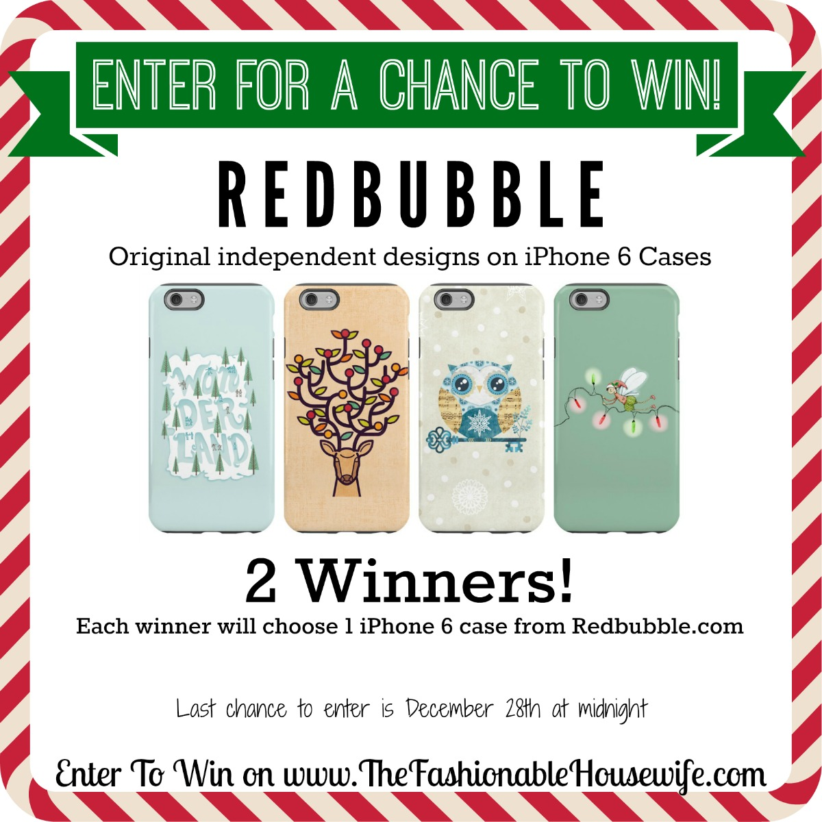 Enter for a chance to win iPhone 6 case from Redbubble