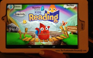We're Homeschooling with Rosetta Stone Kids Reading Program