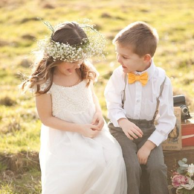 Style Advice for Children in your Wedding Party