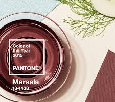 "Trend Alert: Marsala ""Wine"" Is the 2015 Color of the Year"