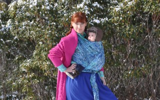 "Today's [Frozen] Outfit: ""Anna"" Wrapsody Stretch-Hybrid Wrap"