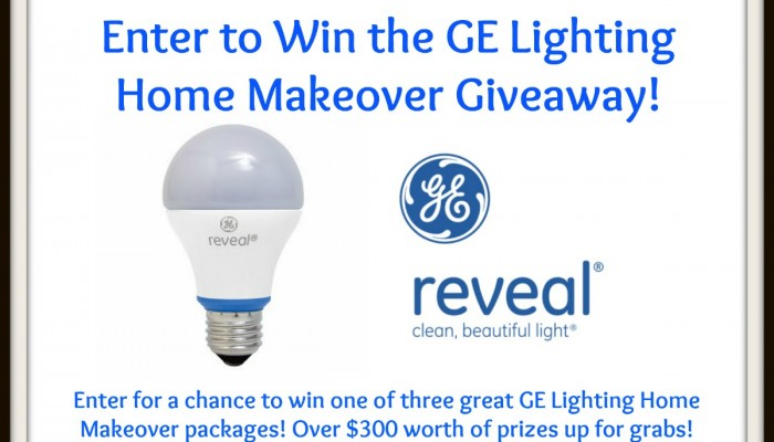 Enter To Win GE Lighting Home Makeover Giveaway