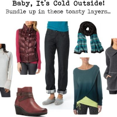 Bundle Up Because Baby It's Cold Outside!