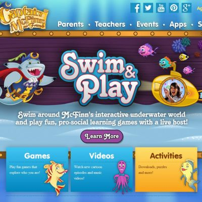Apps For Kids: Captain McFinn's Swim & Play #IC #SwimAndPlay #Ad