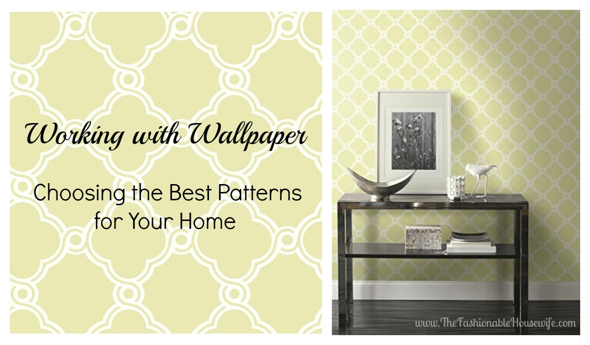 Working with wallpaper choosing the best patterns for for Home wallpaper removal solution