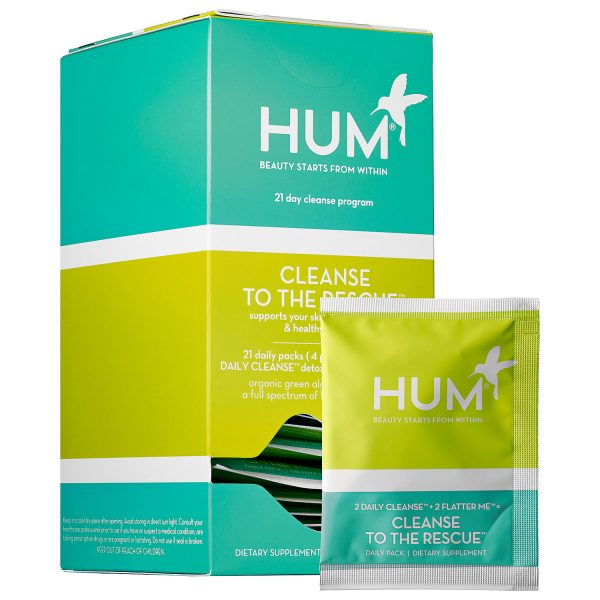 Start The New Year Right With a 21 Day Cleanse from HUM Nutrition